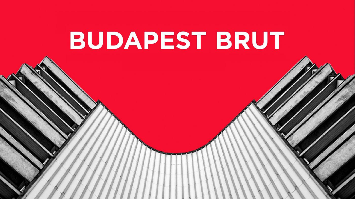 architecture Brutalism budapest hungary