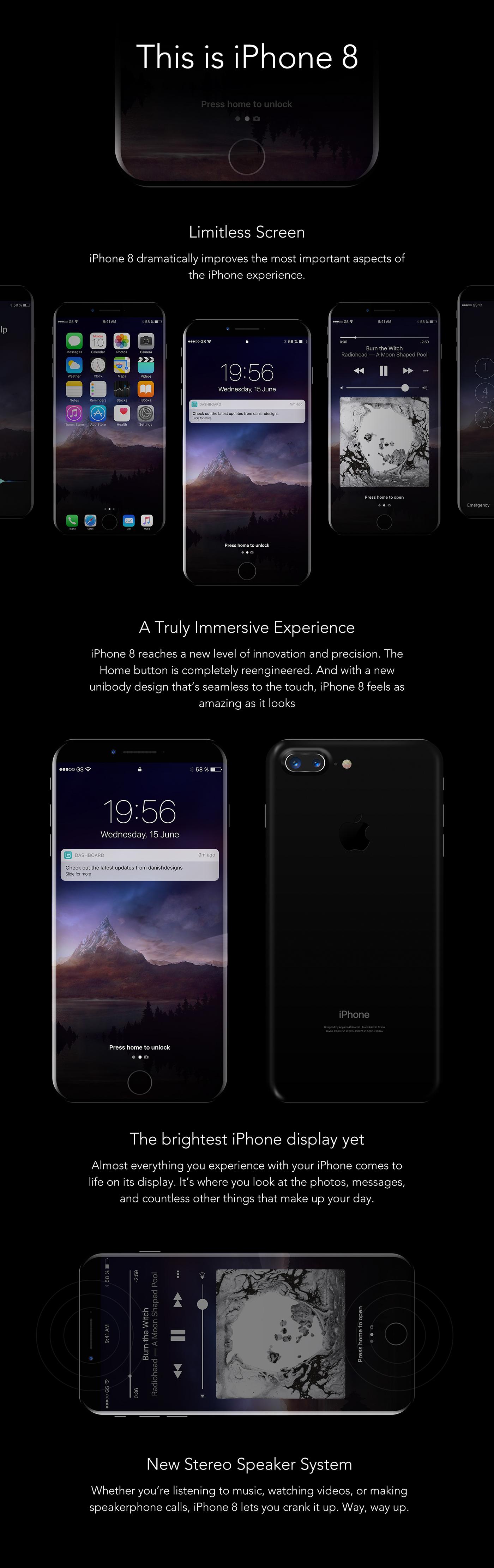 iPhone 8 Mockup iphone iphone8 landing page Mockup psd freedownload
