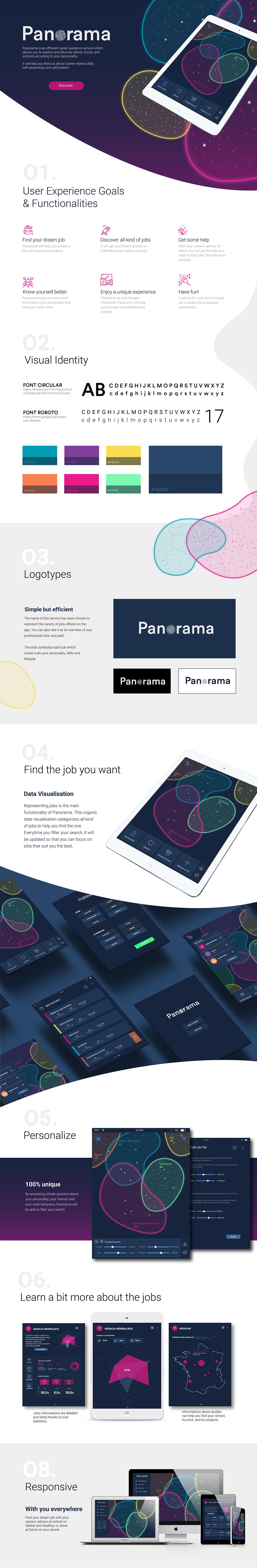 Interaction design  design UI ux app Education