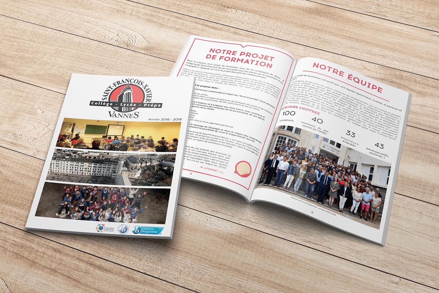 agence éclosion bretagne brochure content contenu creation école magazine plaquette vannes