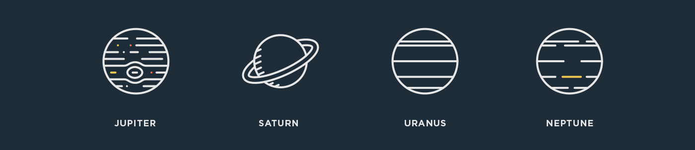 free freebie vector Icon icons Space  galaxy astronomy outline line russian Russia