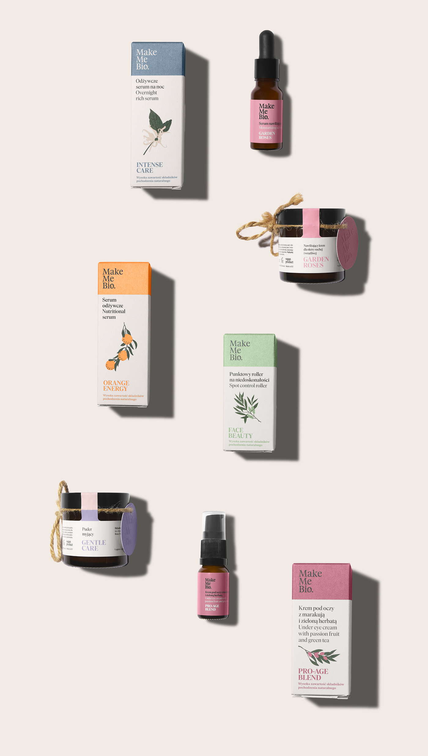 beauty Beauty brand bio cosmetics face cream ILLUSTRATION  Natural Ingredients Packaging Rebranging skincare
