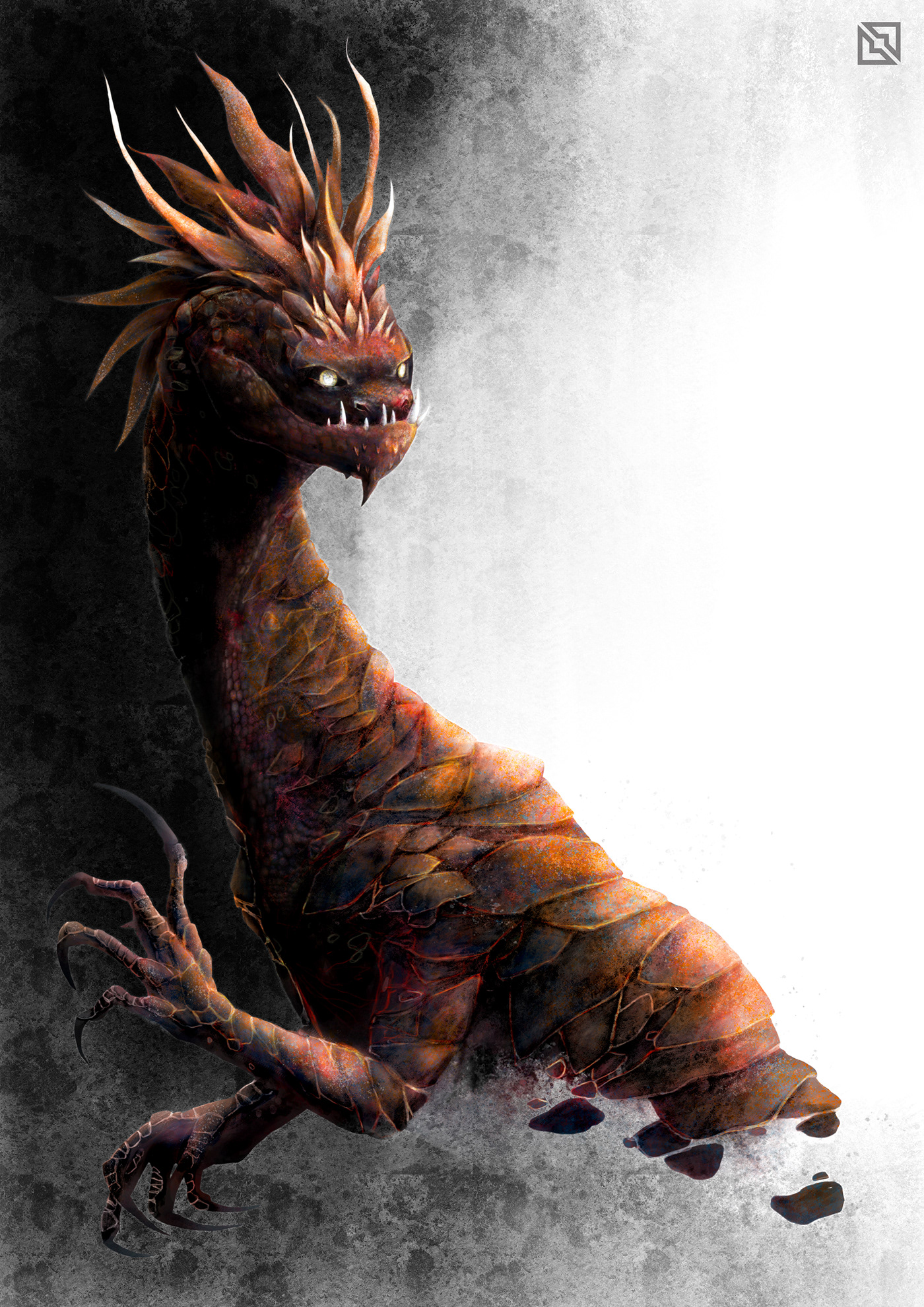 monster creature Character book illustration Games concept art