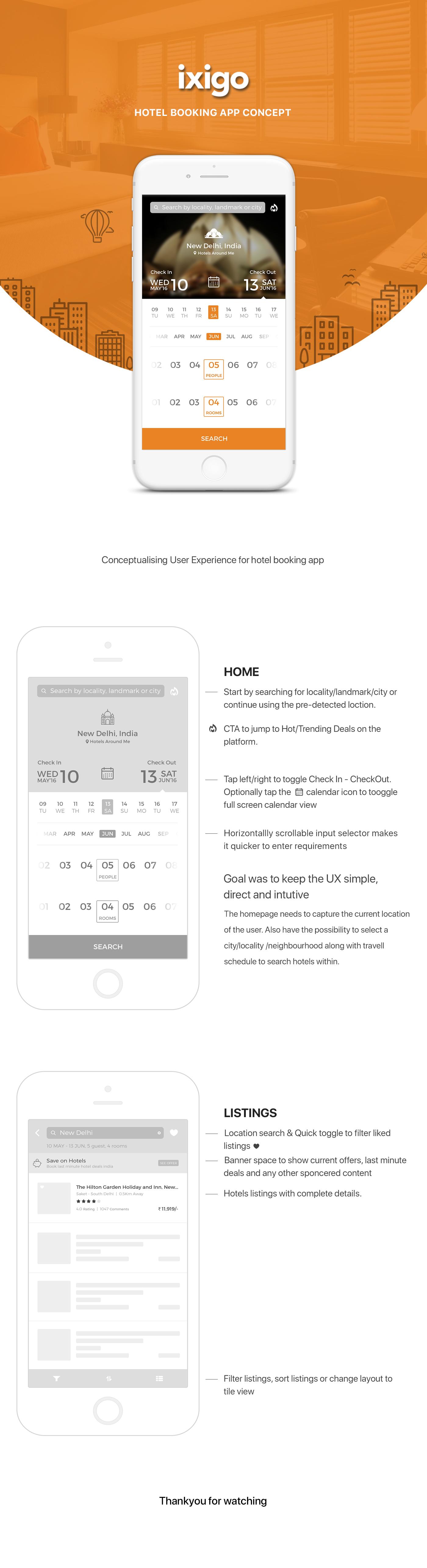 Hotel Booking App Travel App