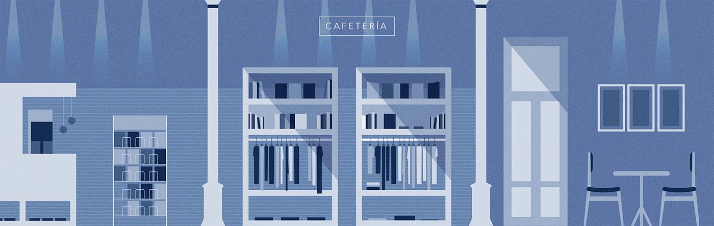 Montevideo,uruguay,architecture,ILLUSTRATION ,Vectorial,app,facade,theater ,graphicdesign
