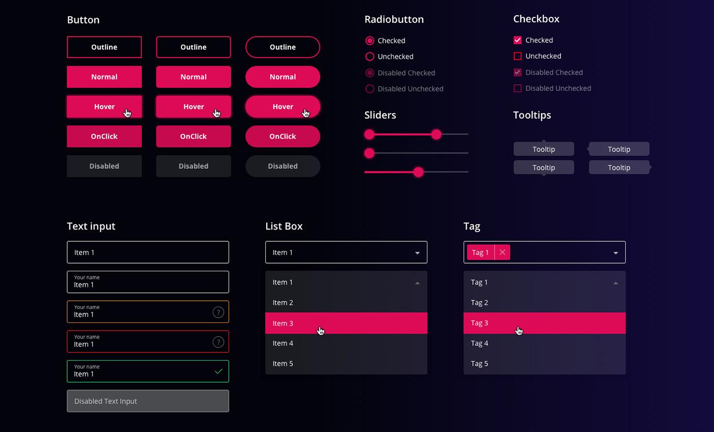 Free UI-Kit for Sketch & Figma on Behance
