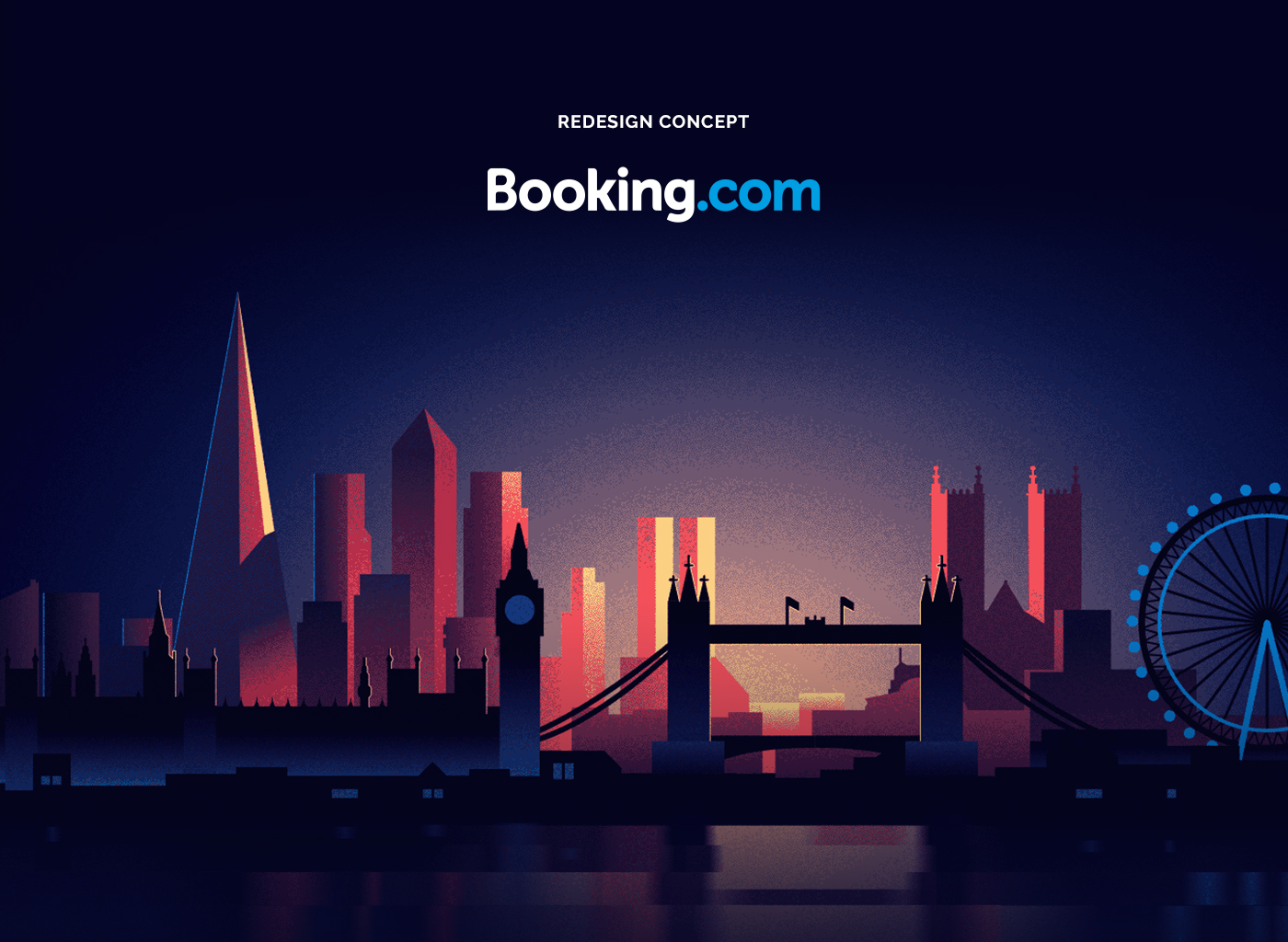 Booking Com Website Design
