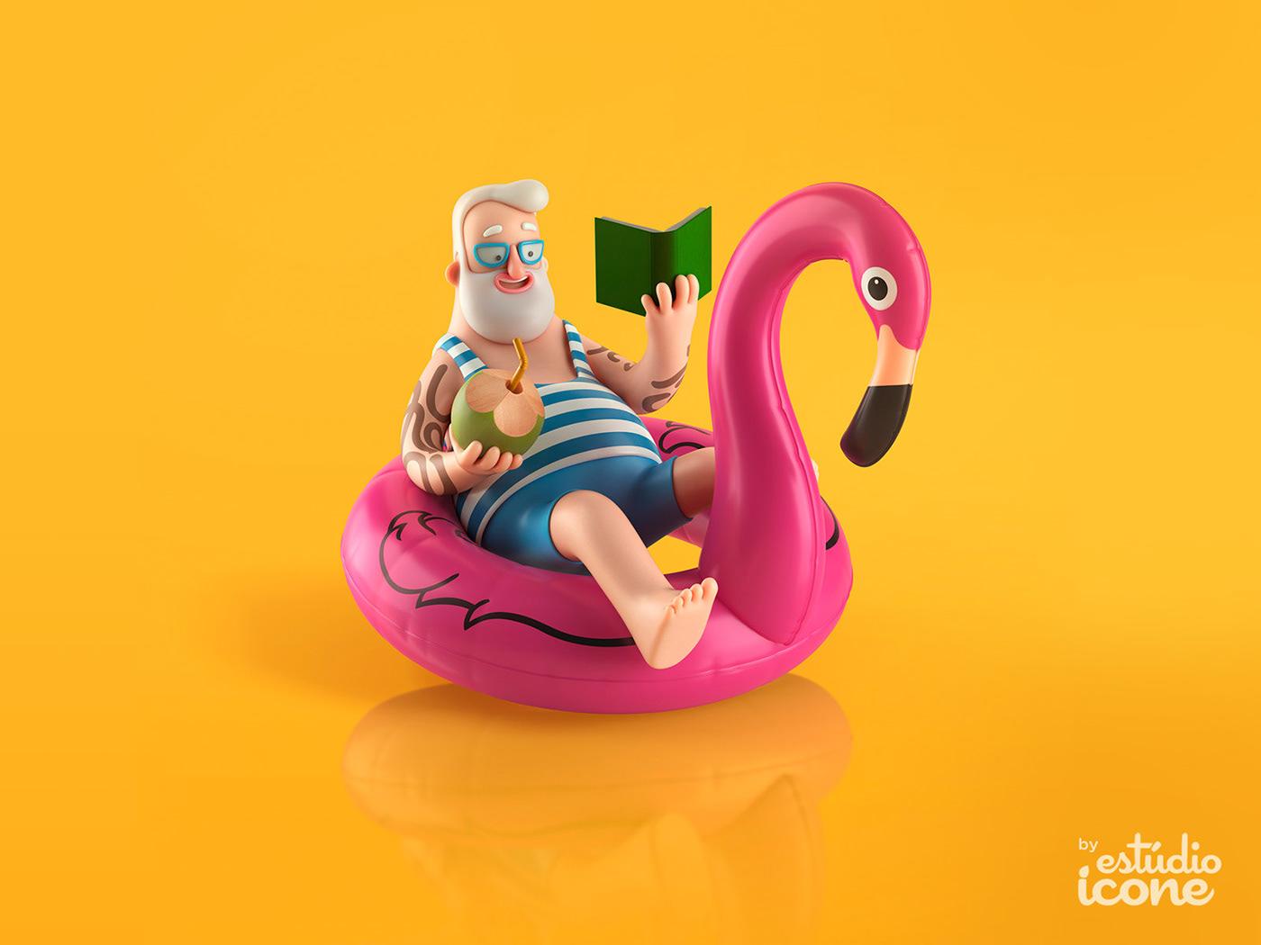 Adobe Portfolio characterdesign estudioicone icone ei digitaart digitalwork  Character personagem #Advertising Amazon