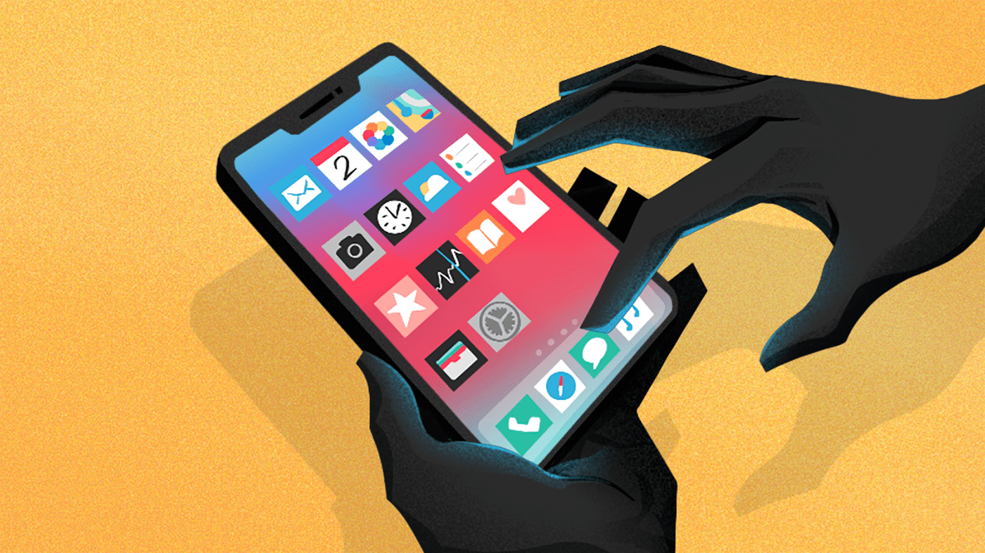android Bacteria dirty editorial germs hands ILLUSTRATION  iphone phone Technology