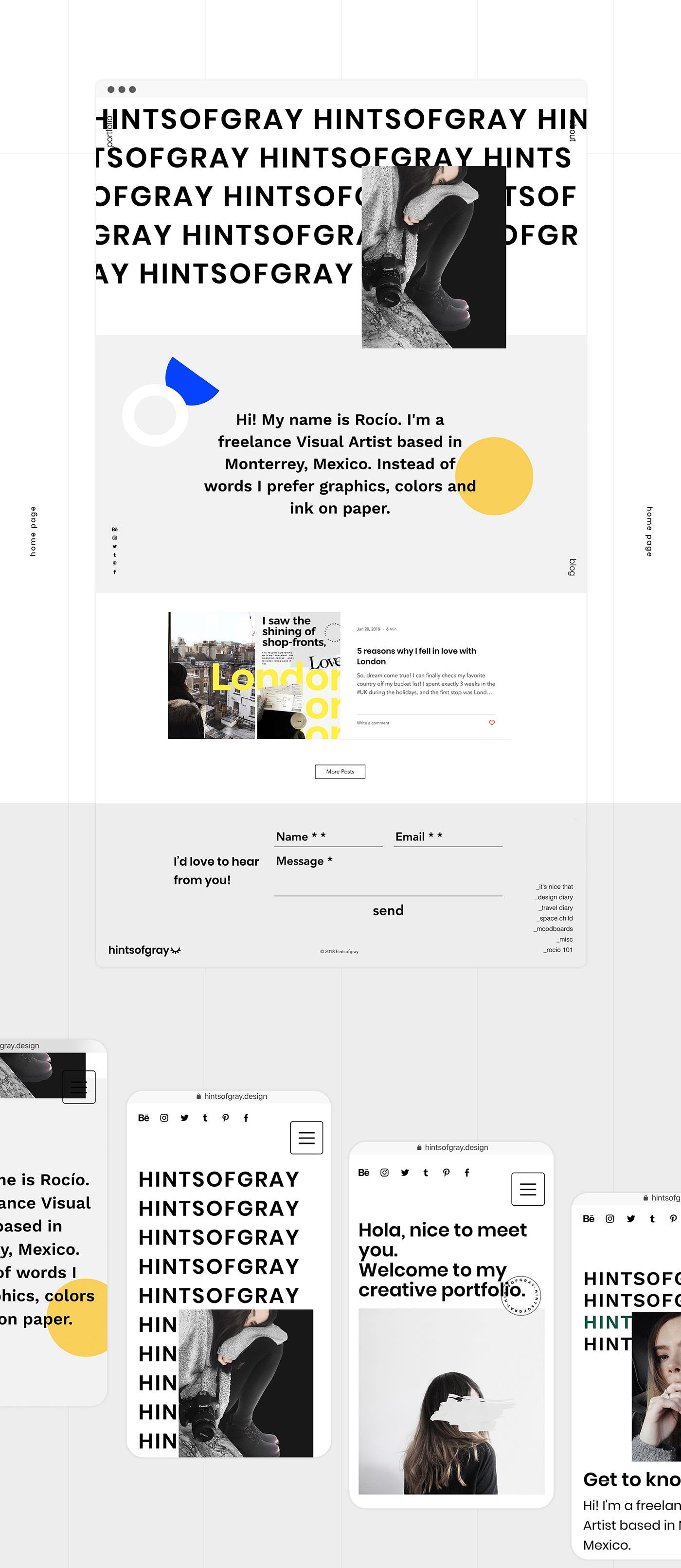 graphic design  portfolio personal branding Web Design  portfolio website CV Resume minimal website minimal minimal portfolio