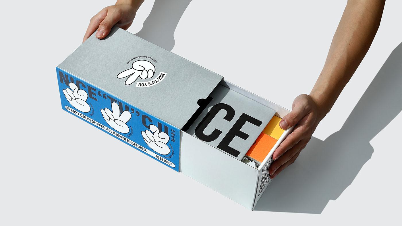 identity package design  Packaging visual