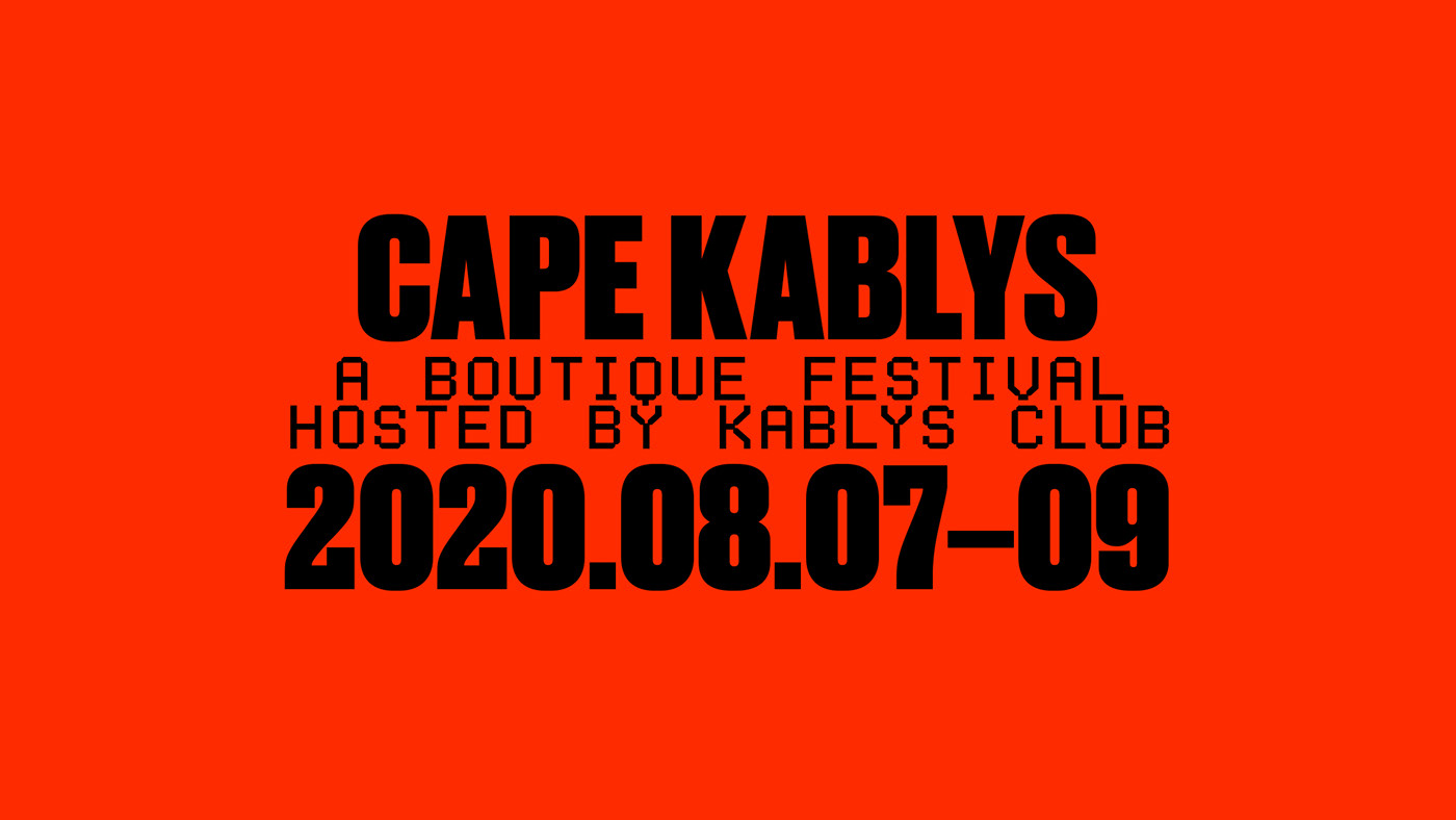aesthetics art direction  bold branding  festival graphic design  identity modern typography   visual identity