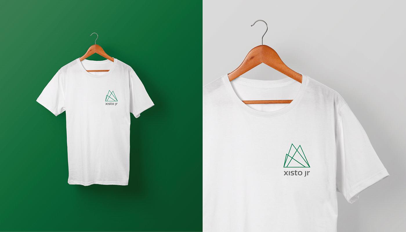 design logo marca branding  graphic design  identidade visual grafico conceito empresa júnior Geociencias