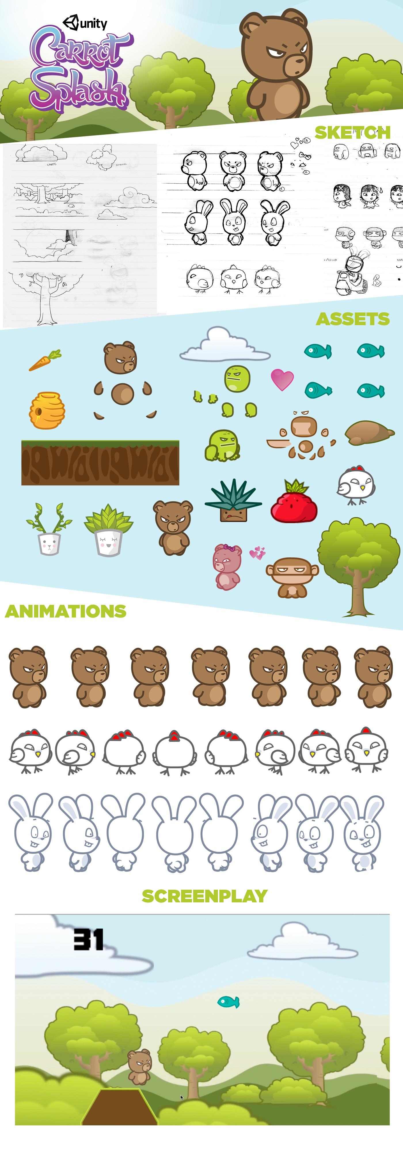 game design  ilustration unity ilustrator photoshop