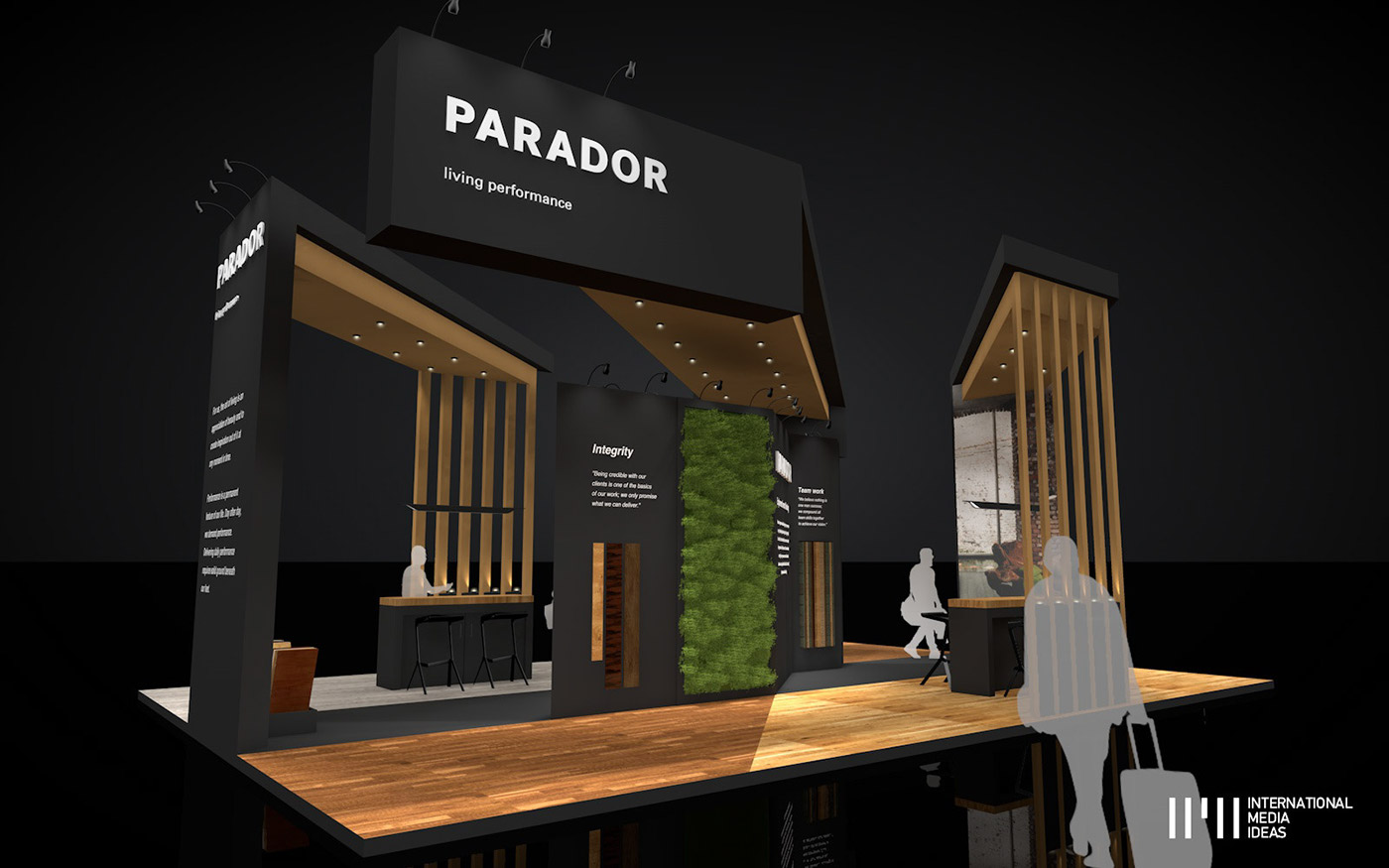 Exhibition Stand Design Concepts : Parador exhibition stand on behance