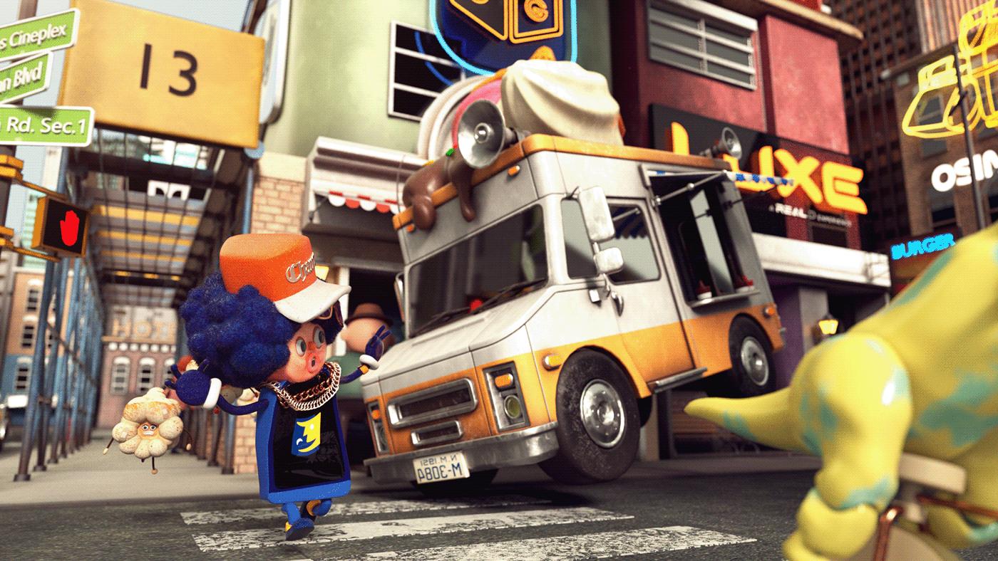 motion animation  branding film