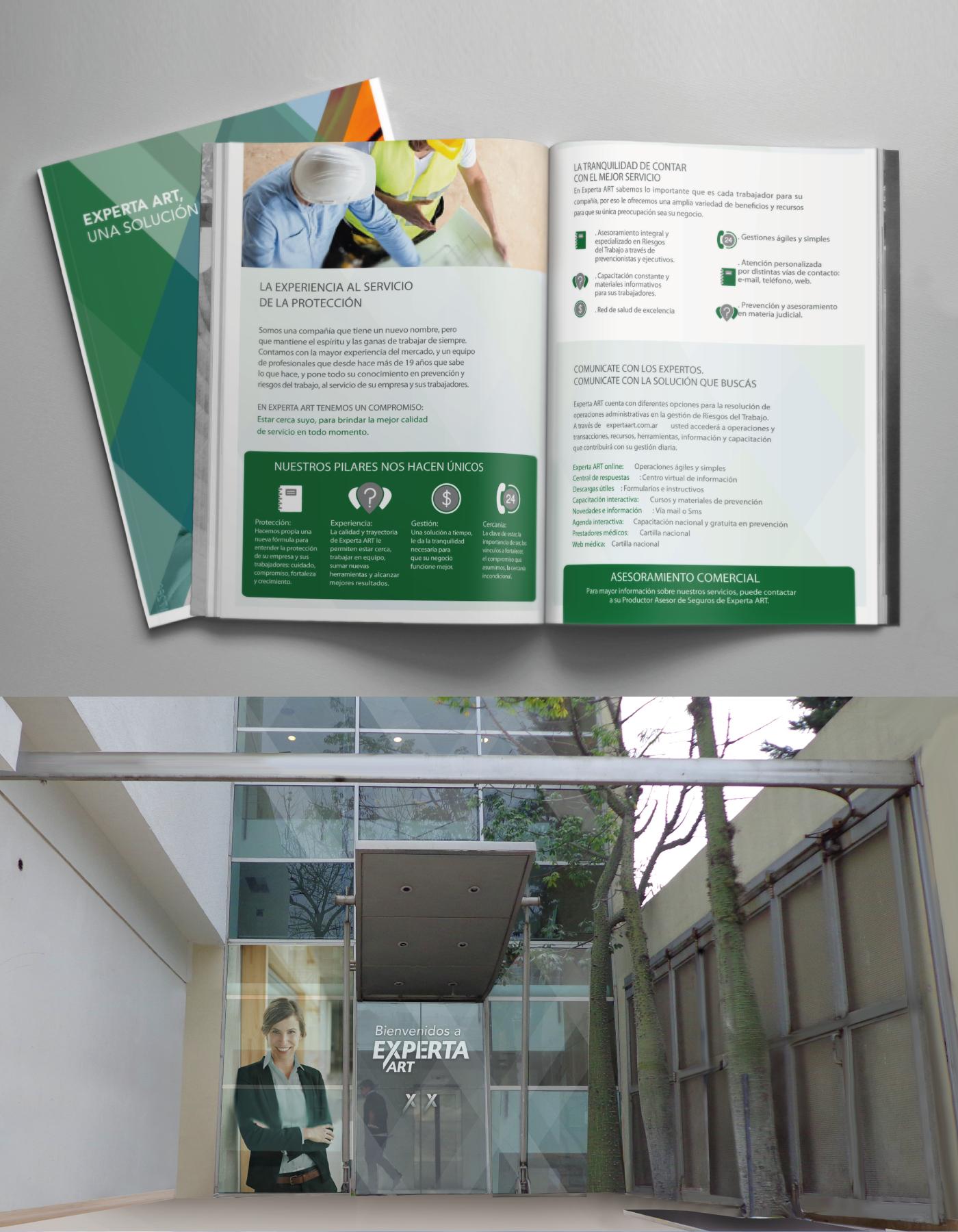 safety interior design  graphic design  visual identity marketing   work protection Creativity naming comunication branding
