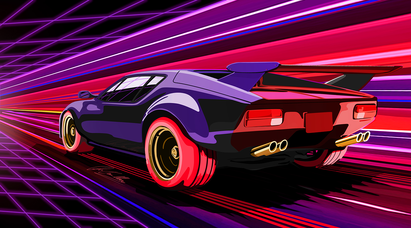 What Car Is Used In Retrowave