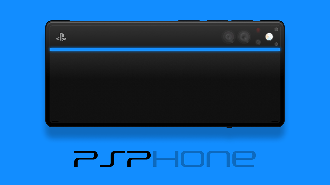 Gaming industrial design  phone playstation product design  ps5 psp Sony