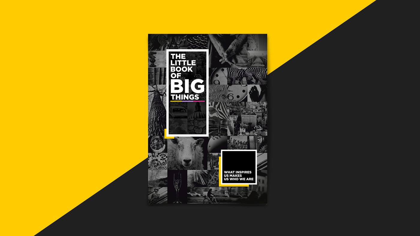 The Little Book of Big Things - Nearbuy(Groupon) on Behance