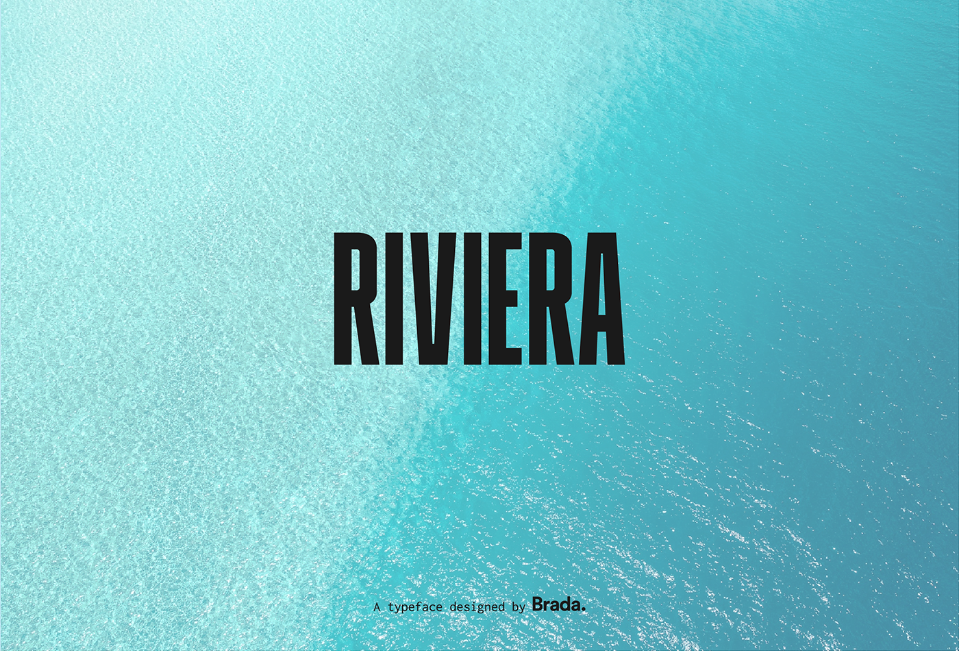 Riviera Typeface on Behance