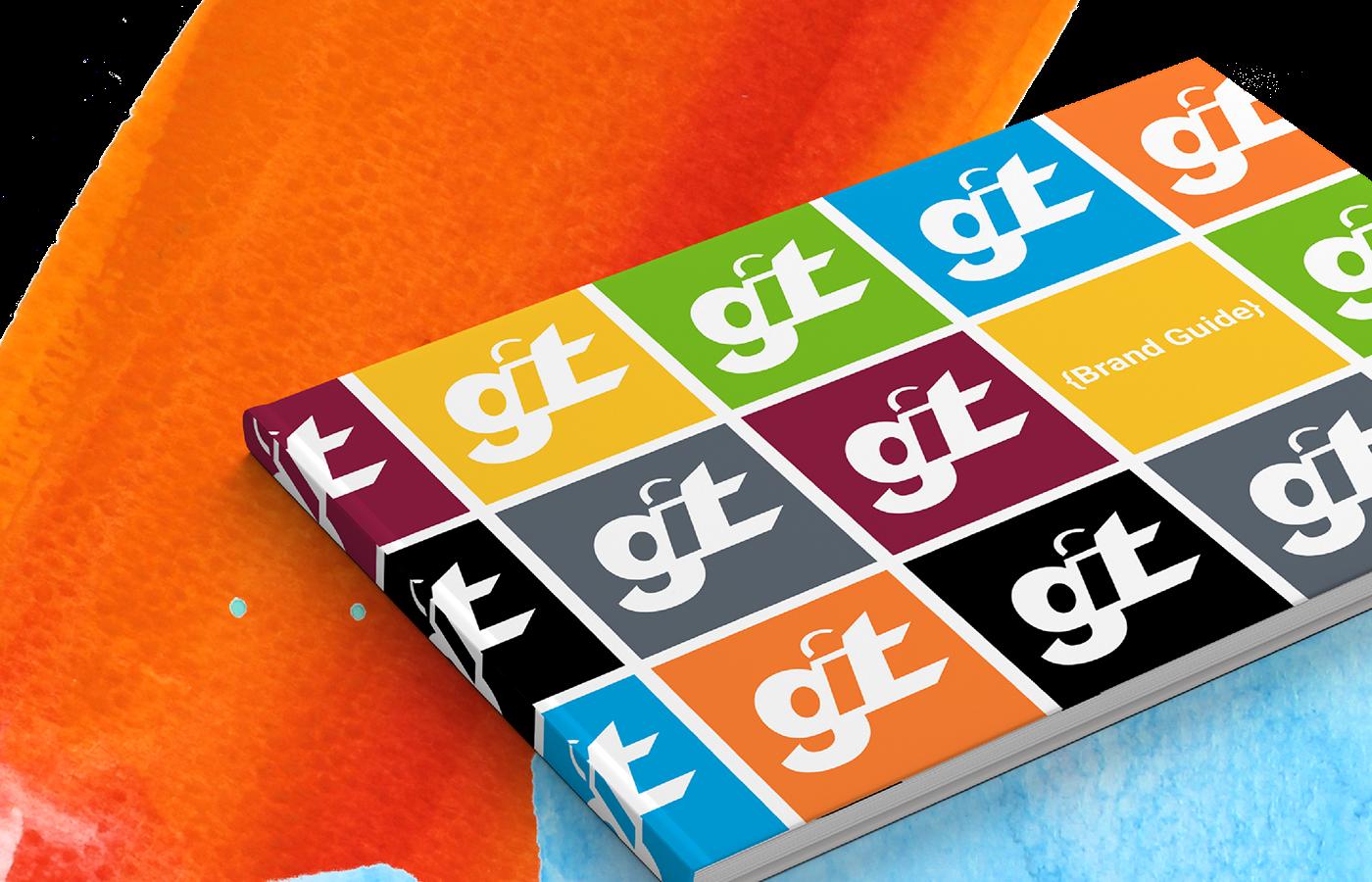 branding  GIT-Awards-S18 git ASU Logo Design book design color palette adobeawards