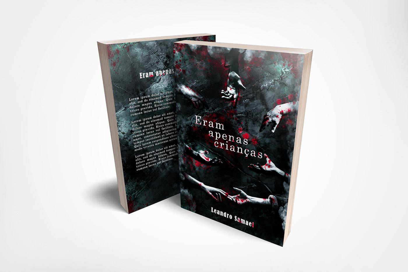 capa de livro book cover design criativo design gráfico