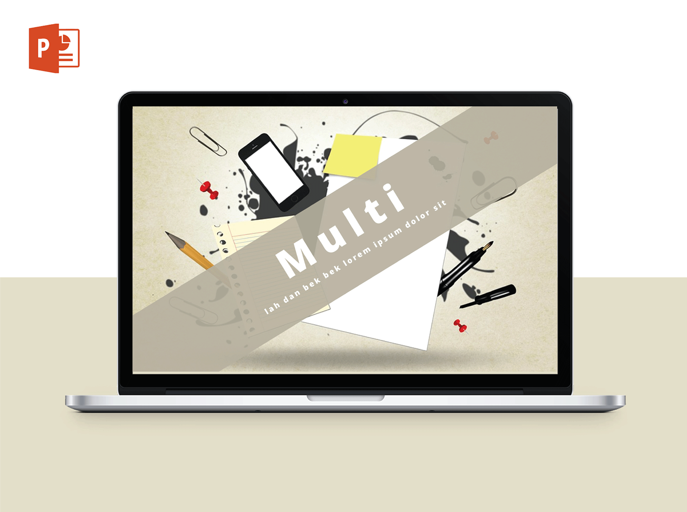 Free multi powerpoint template on behance has been present at our place patherostudio presentation template which you can download it for free if you need a powerpoint template for making your toneelgroepblik Image collections