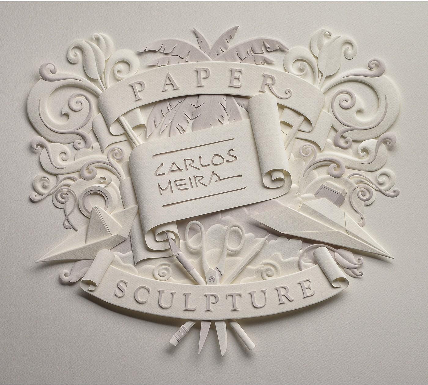 有獨特感的27張立體紙雕作品欣賞