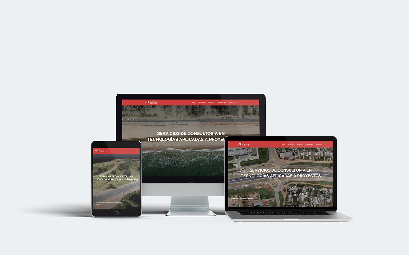 Web drone brand Responsive Webflow
