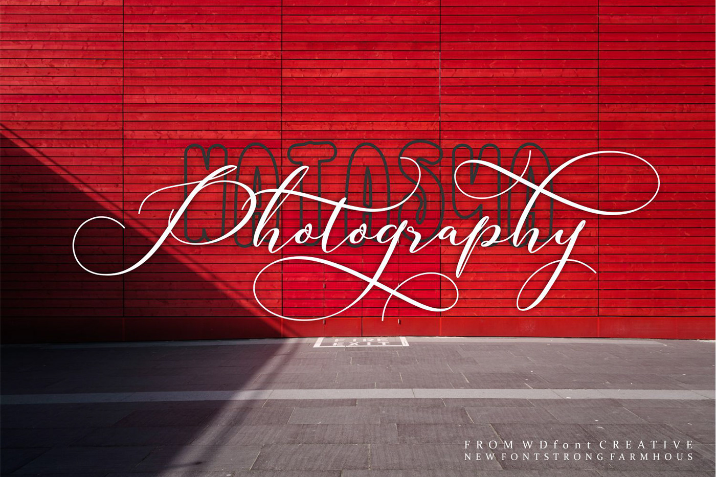 Strong Farmhouse Script font Love valentine wedding happy