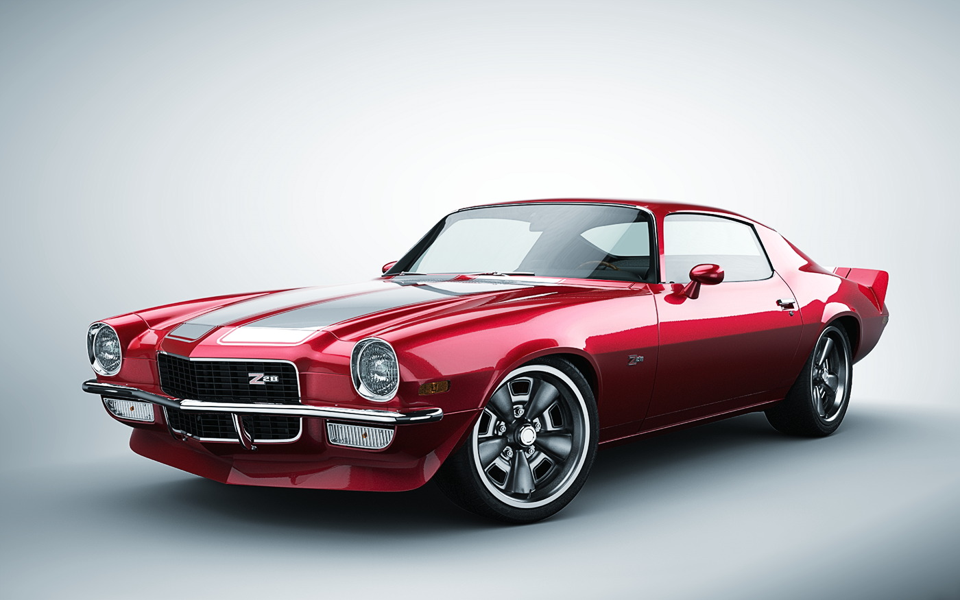 American Muscle Car >> Camaro Z28 - 1970 on Behance