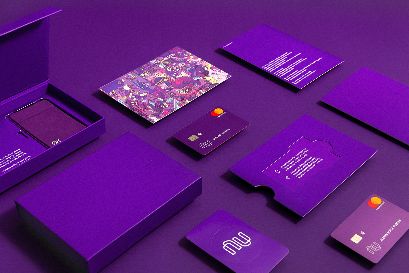Nubank Complete Welcome Kit