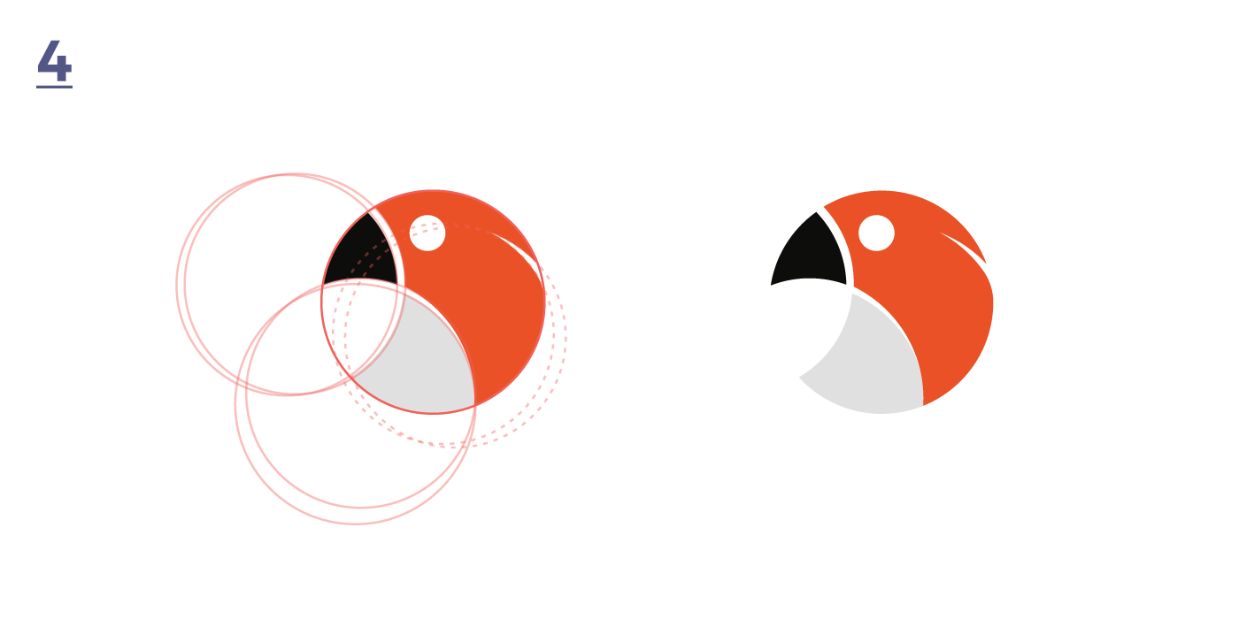 logo logos animal hawk parrot toucan owl flamingo pink color full of color mark animals bird birds