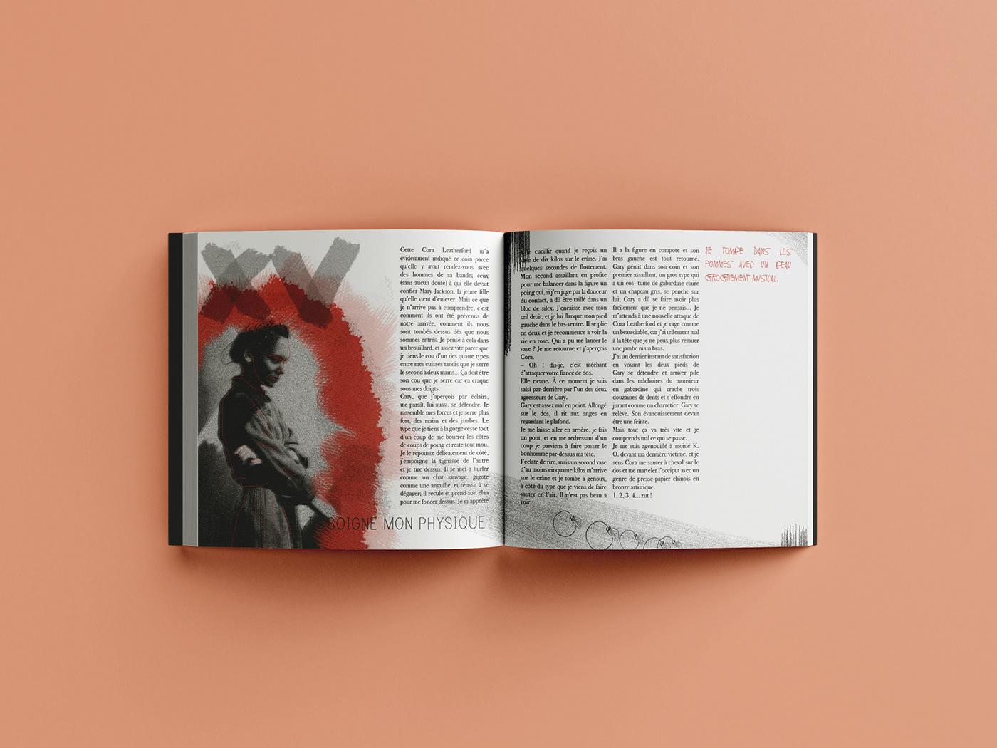 book editorial design  ILLUSTRATION  polar square book