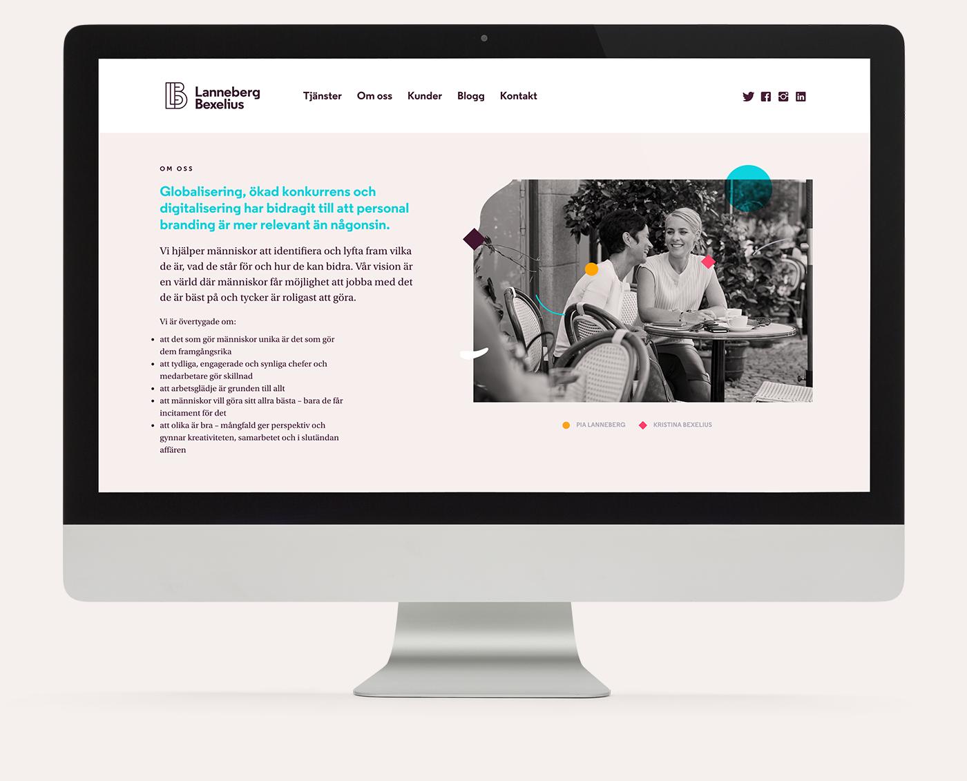 brand logo ILLUSTRATION  colorful Sweden Web UI