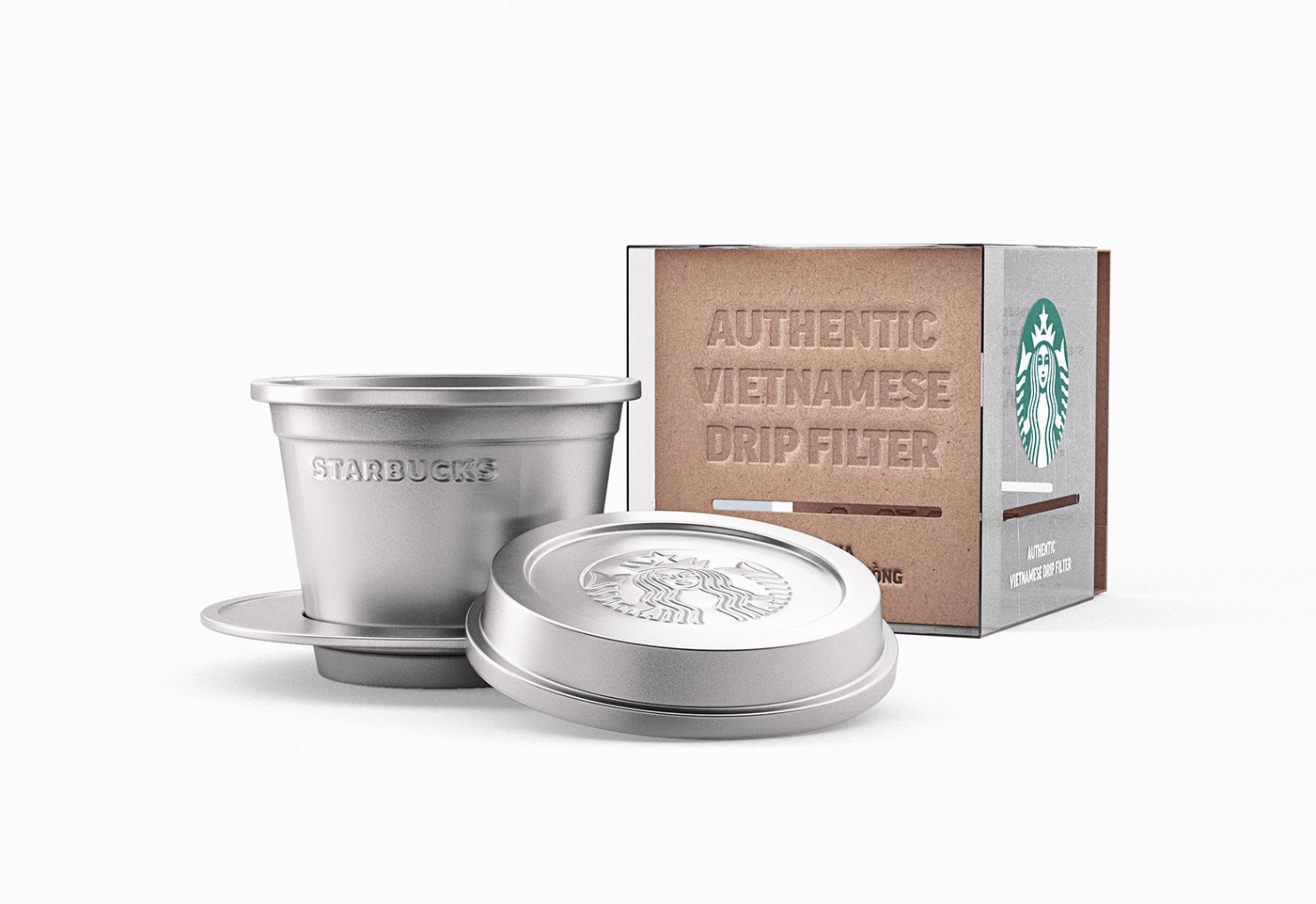Starbucks Traditional Vietnamese Phin Concept On Behance