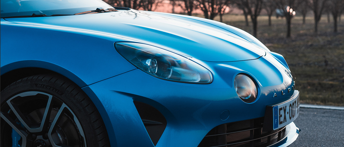 alpine france car blue Photography  design Auto renault sport car