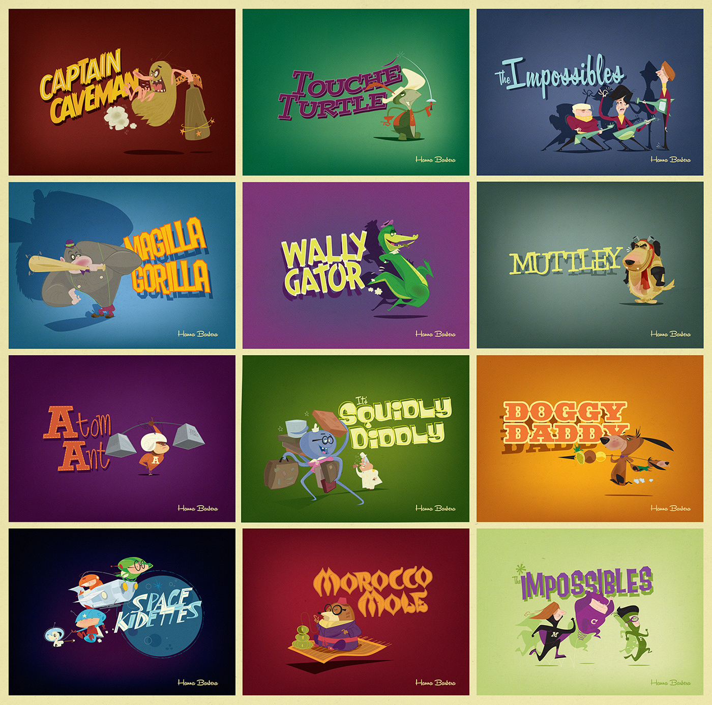 Cartoons animation
