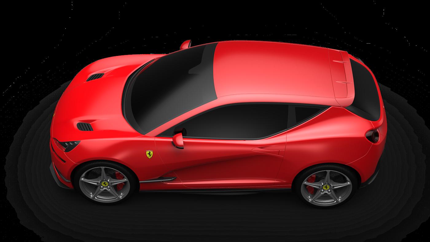 Alias keyshot Hatchback car 3dmodeling 3D FERRARI