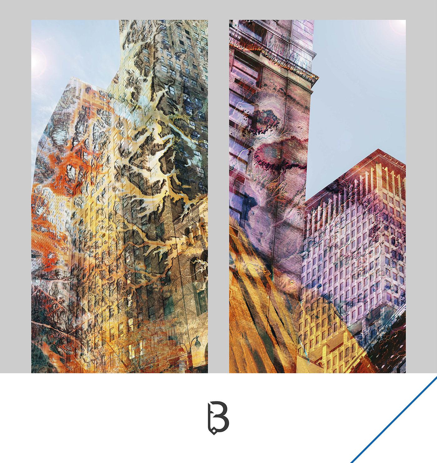 buildings colors design Mode vitrine windows art