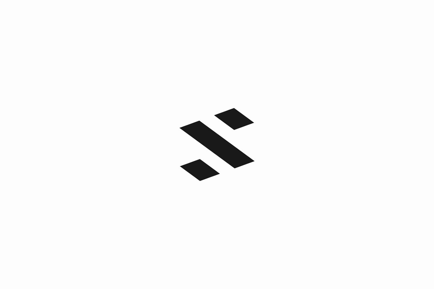 Adobe Portfolio Paul Stancel Logo Design branding  brand identity monogram simple minimalist minimal bold
