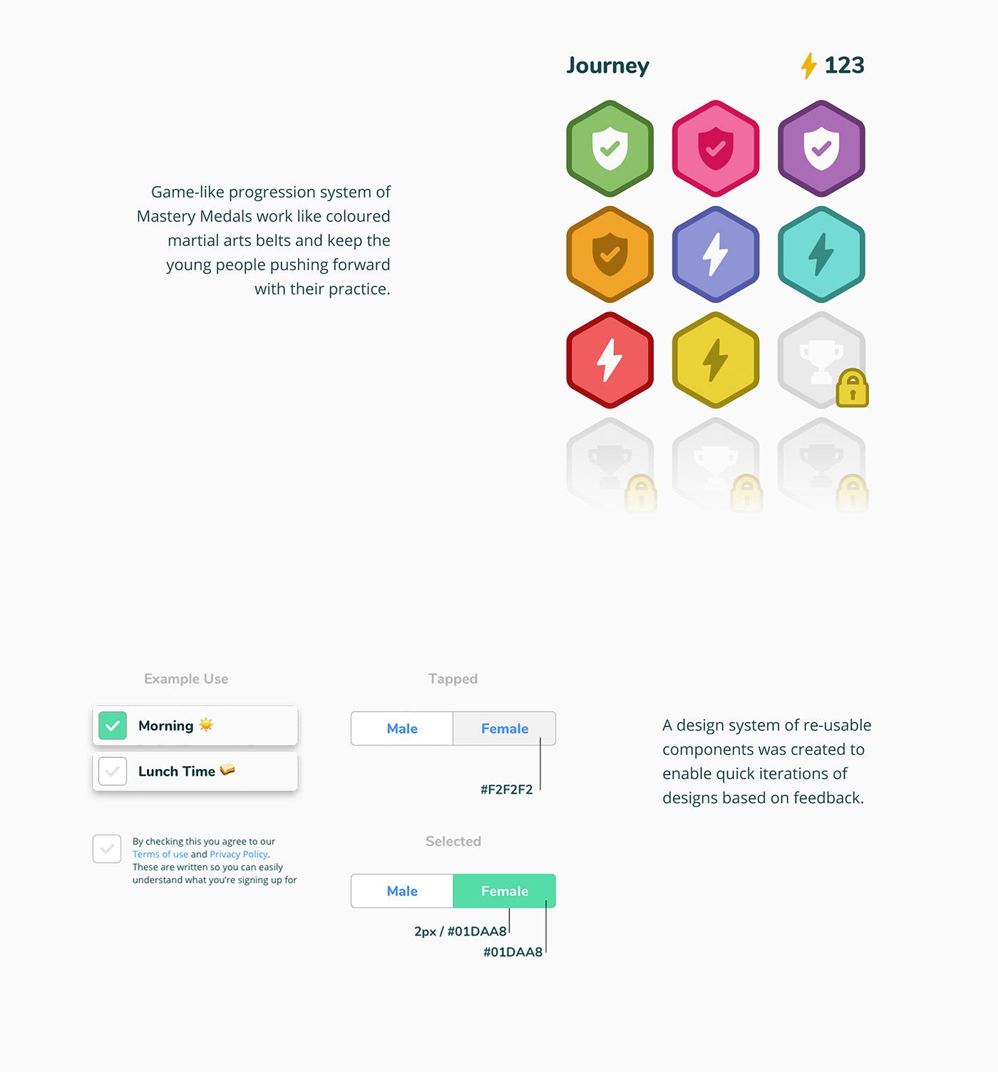 UI ux goozby ethical tech app mobile Mobile app product design  Character design  ILLUSTRATION