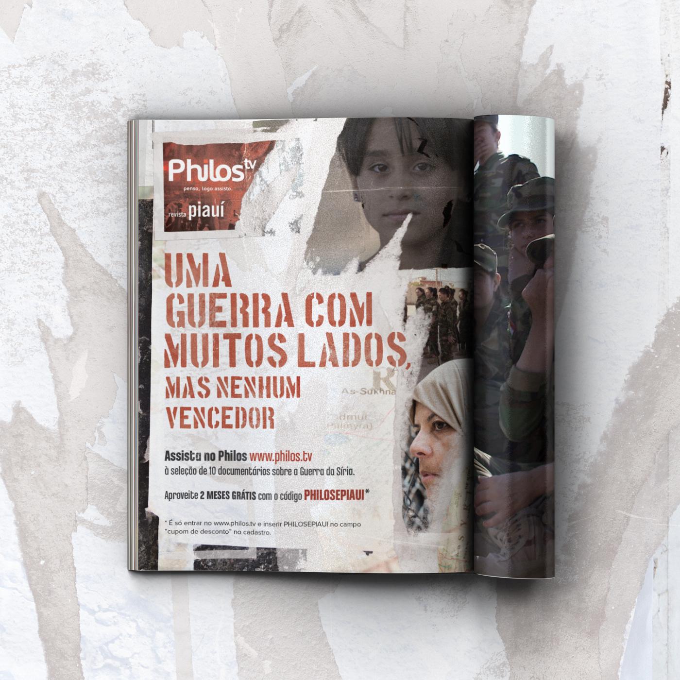 design gráfico anúncio revista Direção de arte publicidade