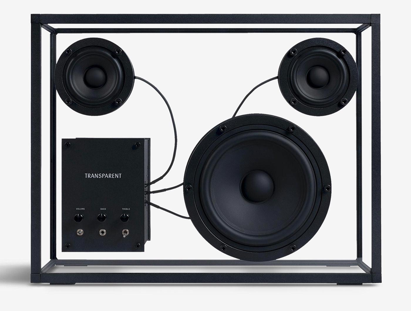 Bang&Olufsen Geneva interaction Marshall sennheiser Shure speaker transparent UI uxui