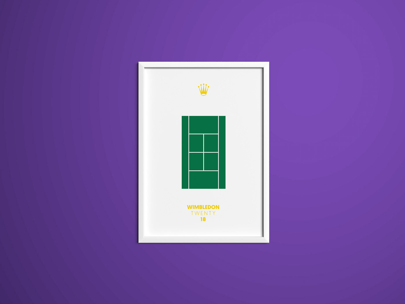 wimbledon tennis poster typography   graphic design  typographic minimal poster collection sport sports