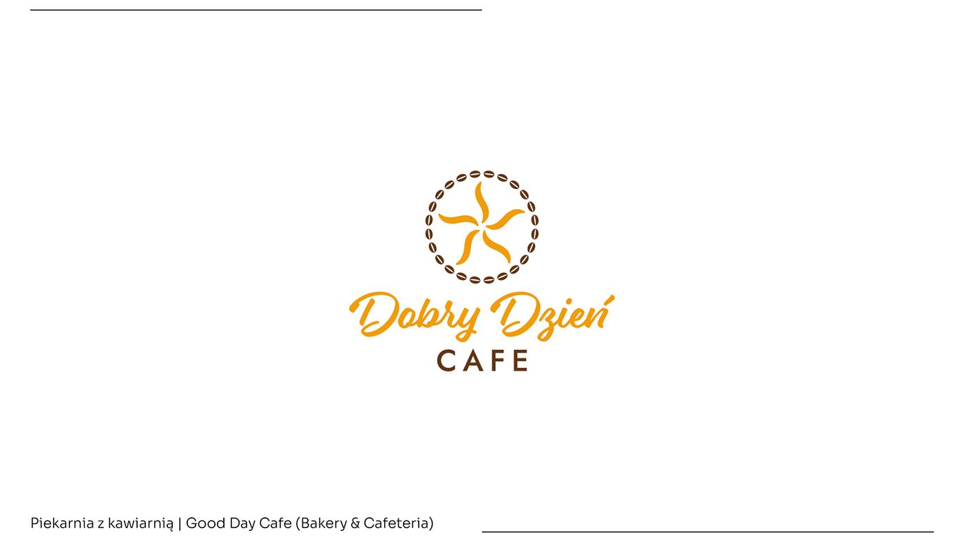 bakery cafe cafeteria cake cukiernia heaven kawiarnia   logo Logo Design wings