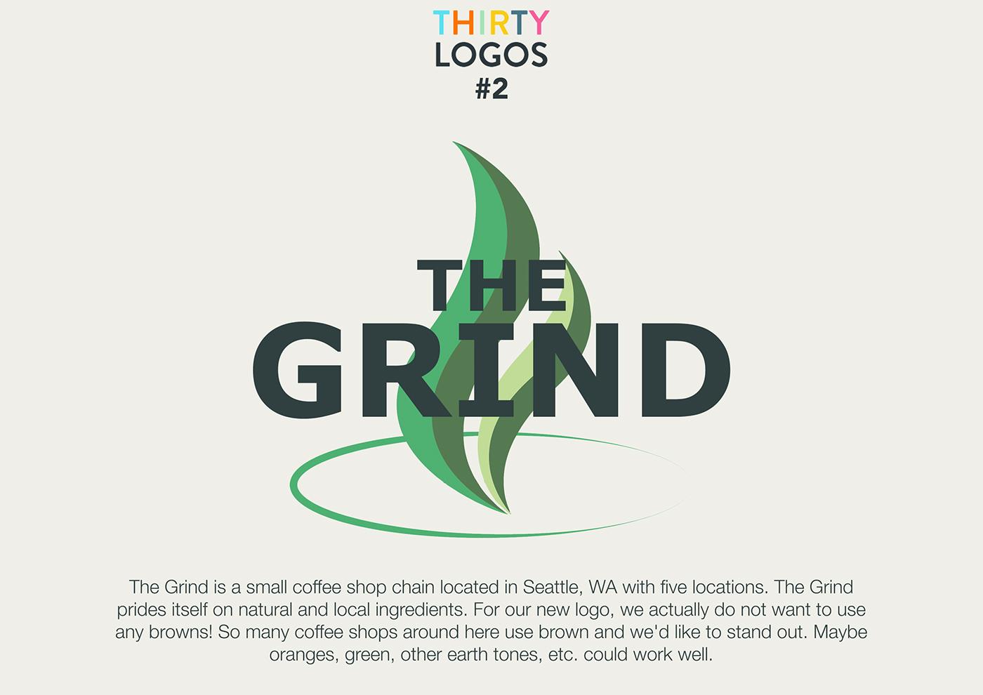 The 30 Logo Challenge