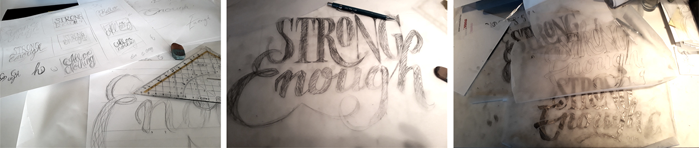 Cher strong song beer Packaging lettering craft hand font Hipster