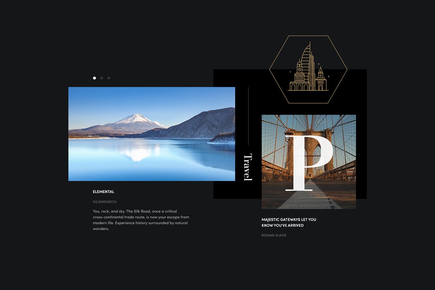 prism dreamweaver adobe Website sophisticated sleek dark gold chic luxury Responsive